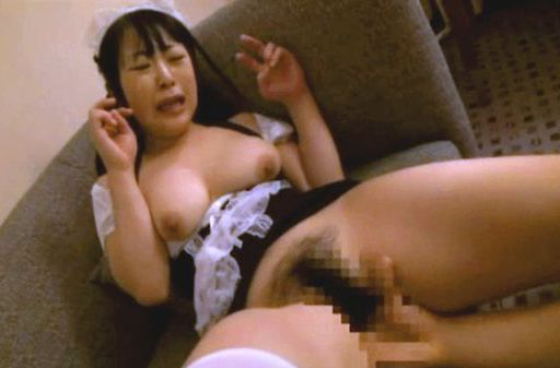 Stunning Asian AV model in the uniform of a maid enjoys hardcore