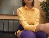Busty Hina Kamikawa posing nasty on camera