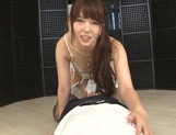Yui Hatano blows and swallows like a true goddess