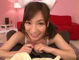 Sexy Japanese amateur Kaho Kasumi arranges POV titfuck