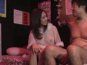 Kinky Japanese milf enjoys steaming sexual game