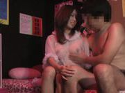 Kinky Japanese milf enjoys steaming sexual game