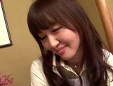 Sweet asian babe Yui Igawa gets pounded by old guy picture 11