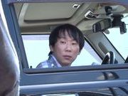 Japanese AV model fucking in the bang bus