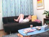 Cute Japanese AV model relaxes arranging solo action picture 13