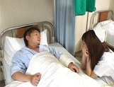 Rio Hamasaki Asian nurse in uniform gets a hard fucking