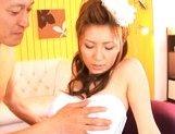 Yuna Shiina Lovely Japanese babe gets a hot cockride