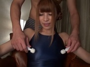 Lovely Asian amateur girl Rua Natsuki enjoys toy stimulationjapanese sex, young asian}