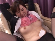 Sexy Asian stewardess Tatsumi Yui is fucked by a toyhorny asian, hot asian girls}