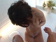 Akari Asahina Naughty Asian model is getting a fucking in the shower