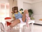 Kirara Asuka Asian doll is enjoying masturbation picture 13