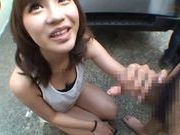 Anno Anjo pretty Asian babe gets a load of cum on her lovely face