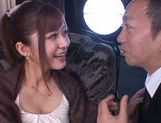 Horny milf Satou Haruka likes it in threes picture 5