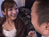 Horny milf Satou Haruka likes it in threes picture 8