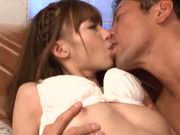 Very sweet girl Aino Kishi is banged extremely hard