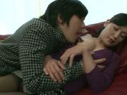 Creamed pussy of horny mature Asian chick Ayumi Takanashi