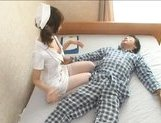 Japanese AV model is a sexy nurse who enjoys a hard fucking picture 14