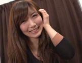 Cute Japanese lady makes a footjob and handjob and gets banged picture 15