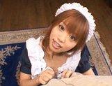 Hitomi Hayasaka lovely Japanese doll in bukkake