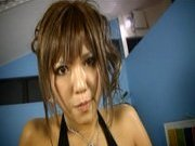 Yume Asak Naughty Asian chick who likes being fucked from behind