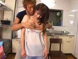 Hot busty milf Yui Sakura enjoys a rear fucking picture 13