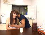 Hot busty milf Yui Sakura enjoys a rear fucking