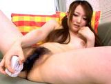 Gorgeous Japanese teen Yui Sasaki masturbates naughty pussyasian teen pussy, young asian}