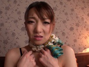 Naughty tit fuck session with busty Mio Takahashi