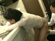 Dildo drills wet cunt of mature Asian housewifeAyumi Takanashi