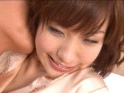 Nao Ayukawa Naughty Asian chick fucks and gets pussy licked