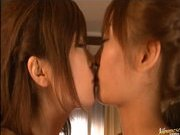 Rio Hamasaki and Kirara Asuka Asian chicks in hot hardcore action
