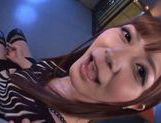Kinky Satou Haruka likes to get wild cock