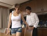 Busty Japanese milf Ramu Hoshino enjoys hardcore banging