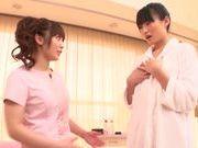 Stunning lesbian Fuuka Nanasaki has sex with lesbian gal
