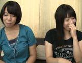 Kinky Japanse AV hotties get pounded by a horny dude