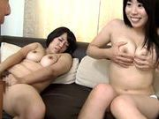 Kinky Japanse AV hotties get pounded by a horny dudeasian girls, hot asian pussy, horny asian}
