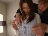 Mai Uzuki Naughty Asian chick is an office gal who enjoys her boss picture 5