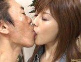 Hime Kamiya Asian teen in hard bukkake