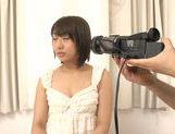 Teen Himari Wakana gets filmed while masturbating picture 2