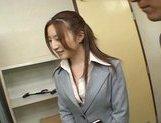 Senna Kurosaki Lovely Asian doll gives a hot blowjob