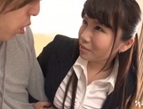 Busty asian teacher moans in steamy fuck picture 10