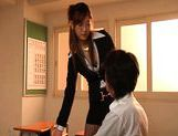 Sakura Ayukawa Asian teacher is naughty picture 6