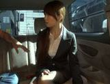 Exquisite Japanese cutie Yuka gets pounded in a car picture 6