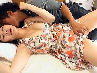 Stunning looking Japanese chick Aoi Aoyama sexy Asian milf