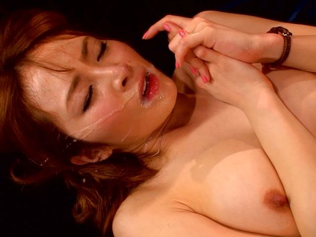 Sensual milf Miku Ohashi enjoys group fucking