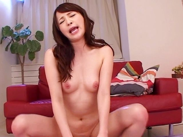 Sweet japanese having her hairy twat nailed well