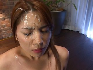 Nanami Sakura amazing Asian babe gives a hot headfucking