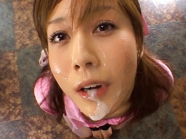 Crazy Asian Idols Ready For Cum Facials