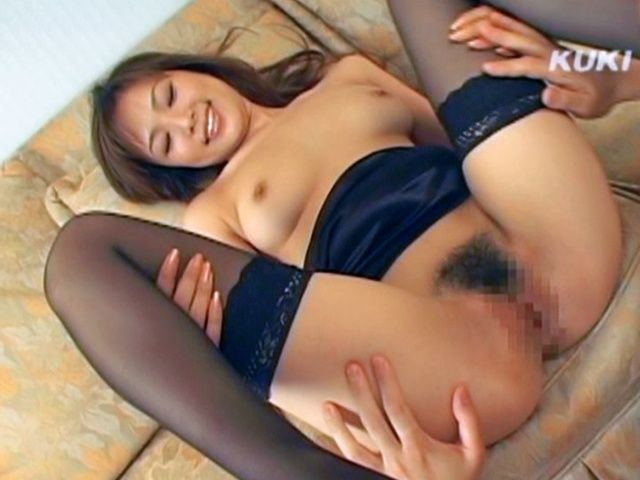 Yua Aida Lovely Asian doll shows off her pussy in her sexy lingerie