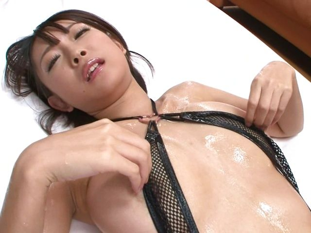 Chick with big breasts Yuzu Ogura enjoys hardcore treatment